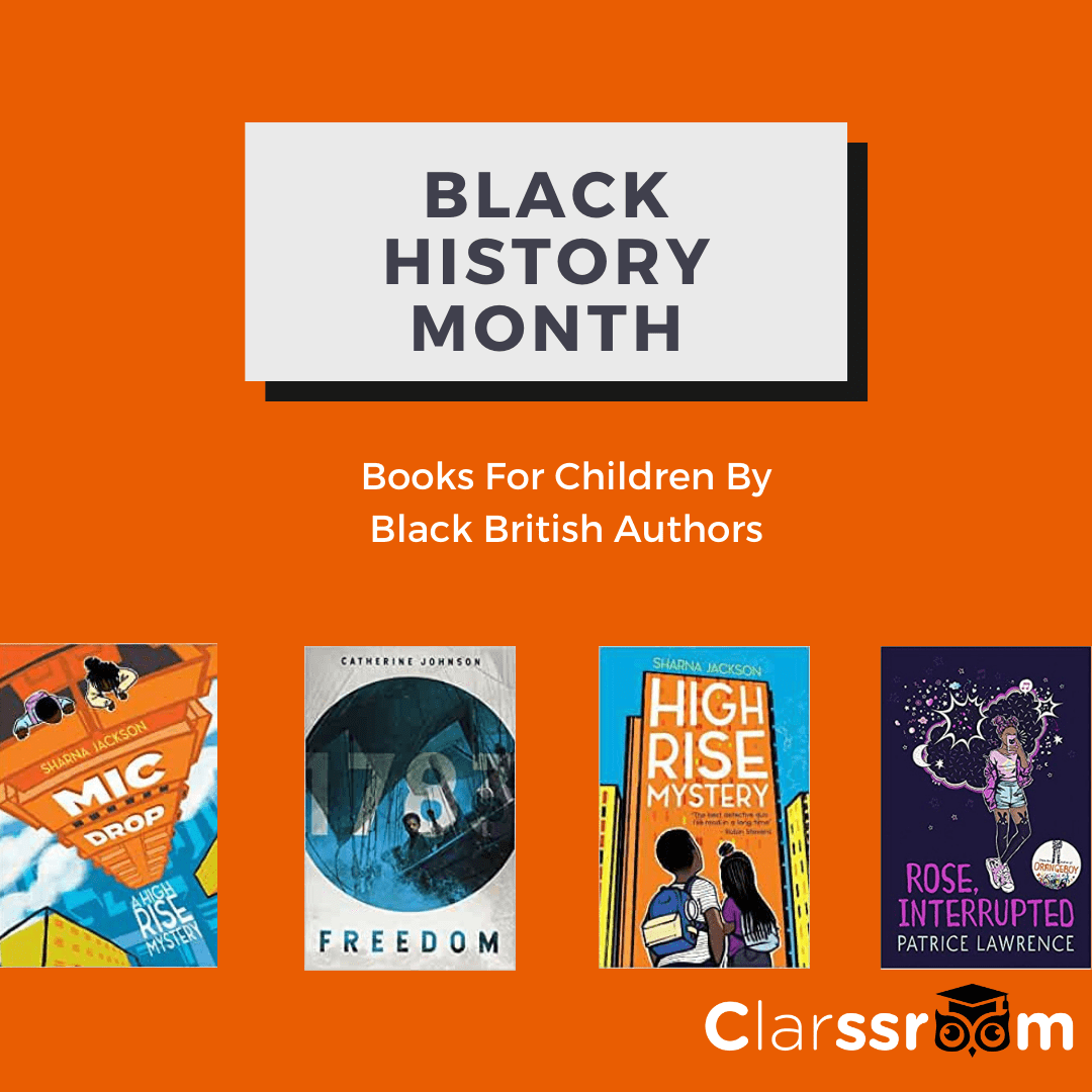 Black History Month – Books For Children By Black British Authors
