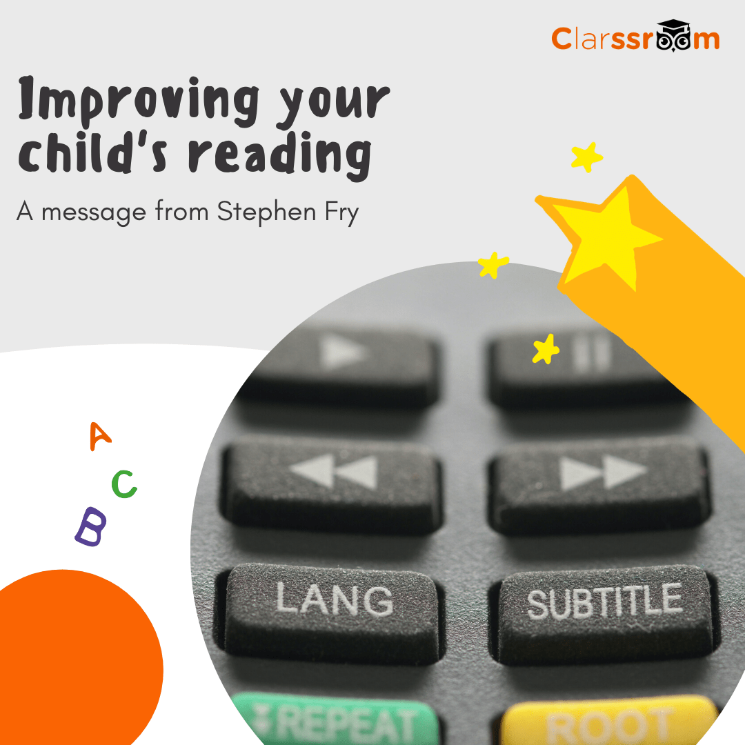 Improve your child's reading skills with subtitles